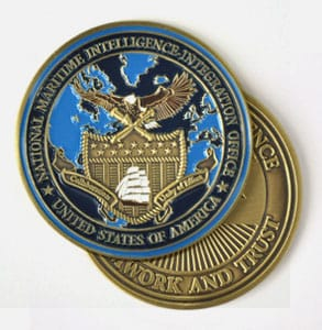 One Side Color Challenge Coins