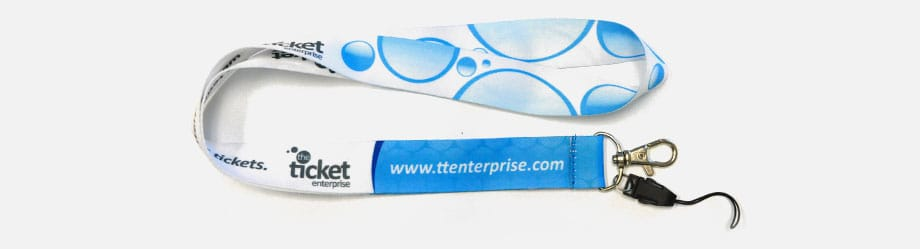 Dye Sublimated Imprinted Lanyards