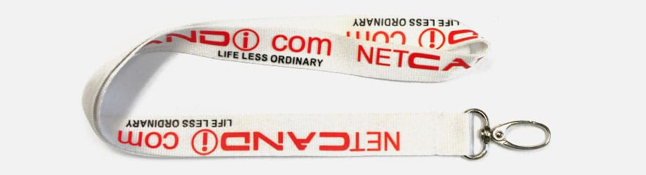 Nylon Imprinted Lanyards