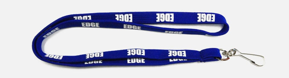 Tubular Imprinted Lanyards